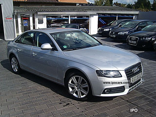 2008 audi a4 2 7 tdi sedan auto vollausstattung car photo and specs. Black Bedroom Furniture Sets. Home Design Ideas