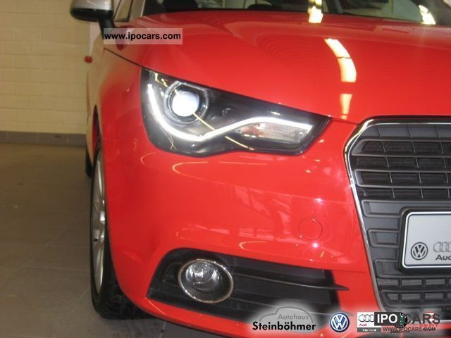2011 audi a1 1 4 tfsi s tronic 119g xenon climate car. Black Bedroom Furniture Sets. Home Design Ideas