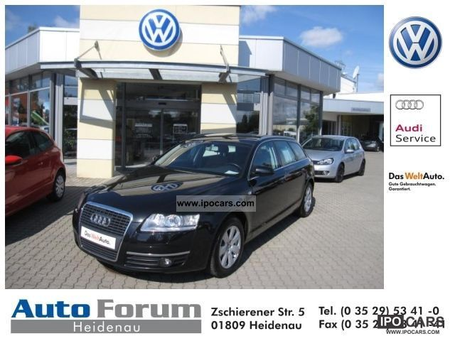 2005 Audi  A6 Avant 3.2 FSI leather navigation xenon Bose CD WECHSL Estate Car Used vehicle photo