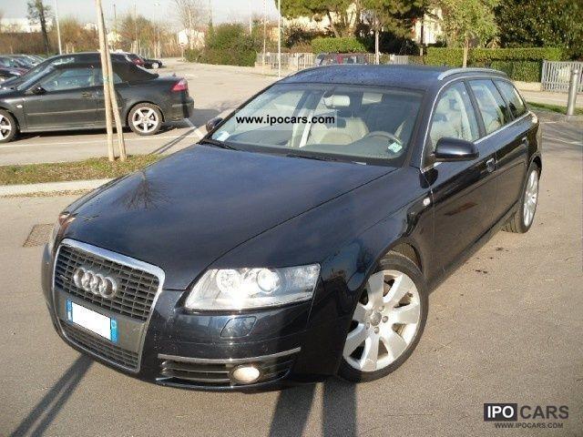 2008 Audi  A6 AVANT 3.0 TDI V6 TIPTRONIC ADVANCED FAP 233cv Estate Car Used vehicle photo