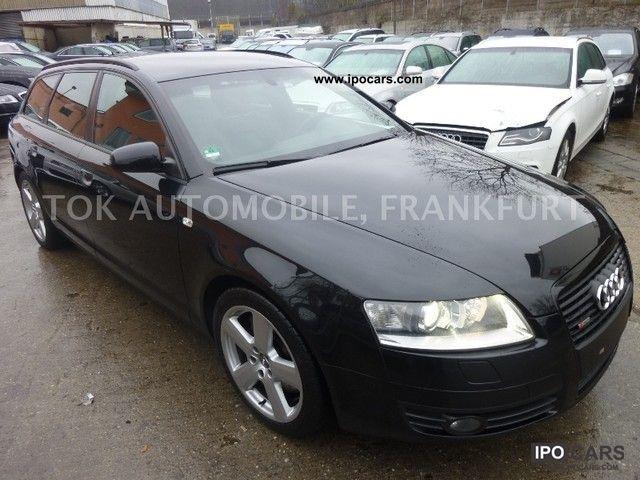 2008 Audi  A6 Avant 3.2 FSI tiptr.qu. S line sport plus Estate Car Used vehicle photo