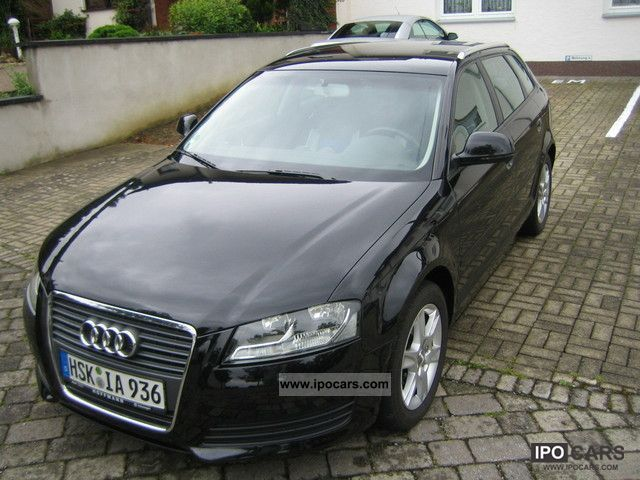 2009 audi a3 2 0 tdi sportback s tronic dpf environment car photo and specs. Black Bedroom Furniture Sets. Home Design Ideas