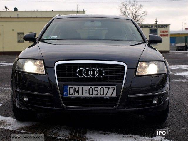 2008 Audi  A6 AVANT, leather, NAVI, ABS, ESP Limousine Used vehicle photo