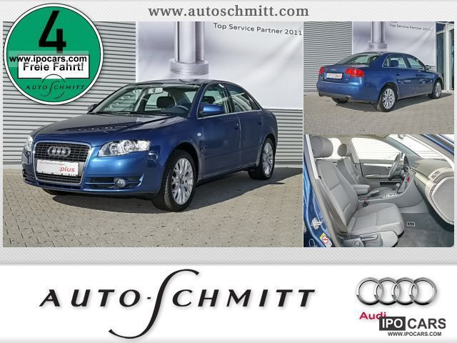 2007 Audi  A4 Saloon 1.8 Multitronic air parking aid Limousine Used vehicle photo
