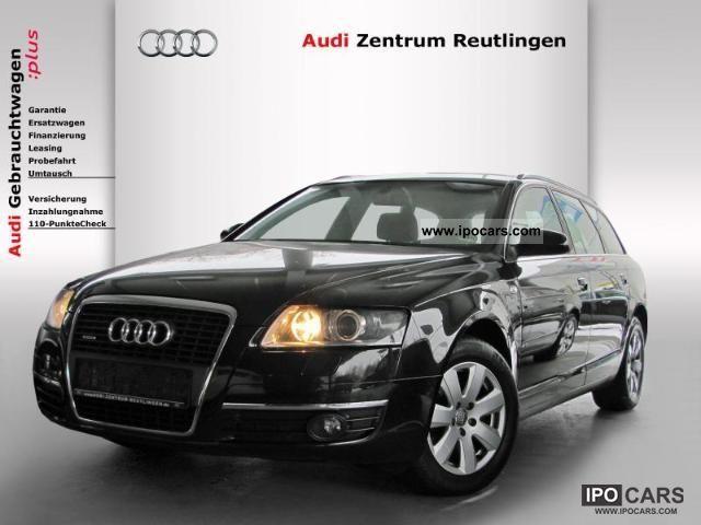 2008 Audi  A6 Avant 3.2 FSI quattro Navi / Xenon / leather Va Estate Car Used vehicle photo