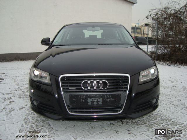 2009 audi a3 2 0 tdi quattro leather xenon ahk stand shz car photo and specs. Black Bedroom Furniture Sets. Home Design Ideas