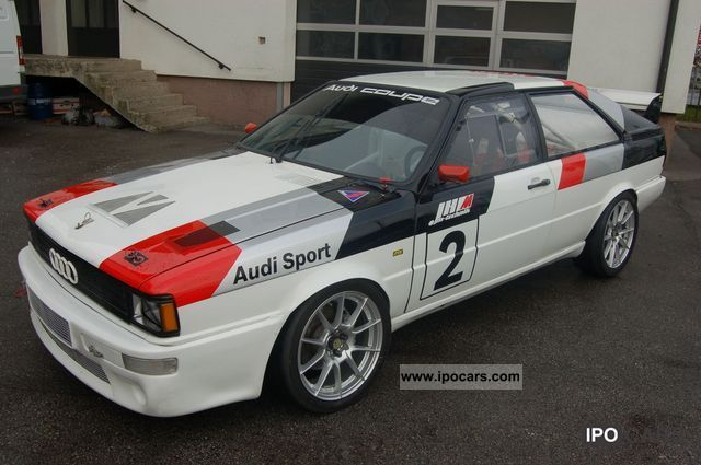 Audi  80 Coupe race car 1986 Race Cars photo