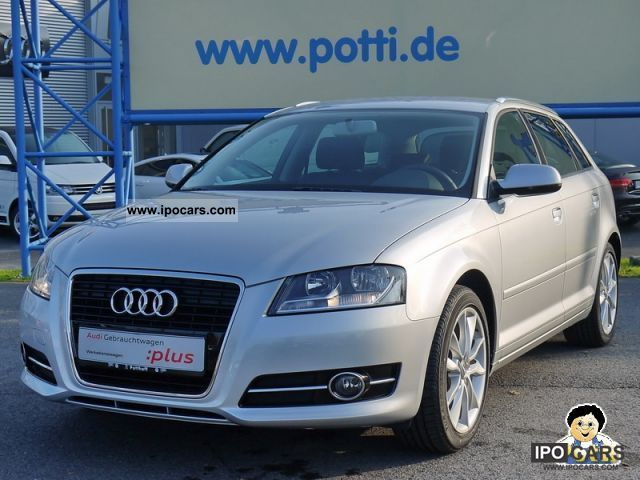 2010 Audi  A3 Sportback 1.6 (Klima) Limousine Used vehicle photo