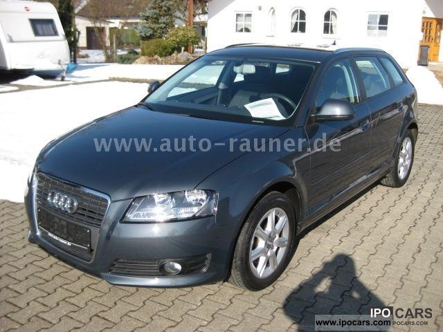 2009 Audi  A3 2.0 TDI Sportback DPF Ambience + seats Estate Car Used vehicle photo