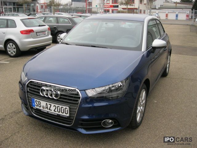 2012 Audi  A1 Ambition 2.1 TFSi, Aluminum Wheels, Media package, Limousine Demonstration Vehicle photo
