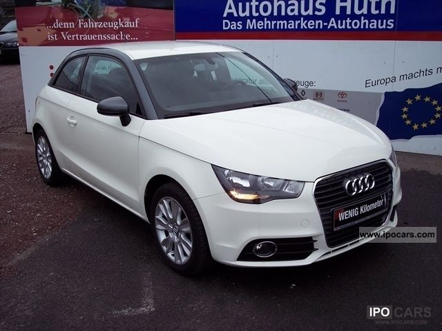 2011 Audi  A1 1.4 TSI Ambition Start Stop, leather, Klimaautom Limousine Employee's Car photo