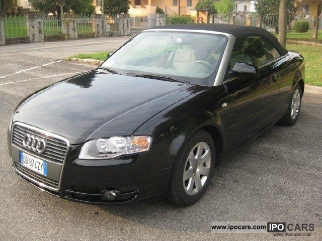 2007 audi a4 cabriolet 2 0 tdi 140cv fap car photo and specs. Black Bedroom Furniture Sets. Home Design Ideas