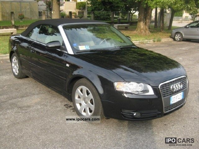 2007 audi a4 cabriolet 2 0 tdi 140cv fap car photo and specs. Black Bedroom Furniture Sets. Home Design Ideas