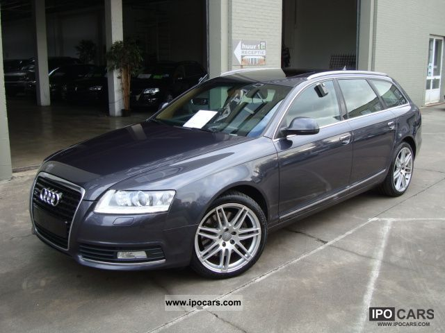 2009 audi a6 avant 3 0 tdi quattro car photo and specs. Black Bedroom Furniture Sets. Home Design Ideas