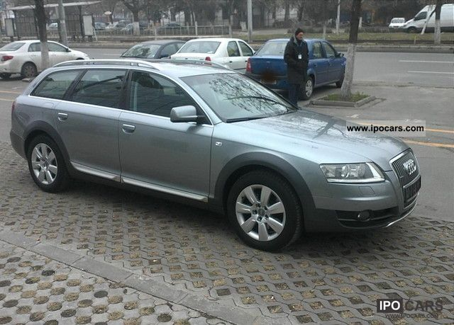 2007 audi a6 allroad quattro 2 7 tdi tiptronic dpf car photo and specs. Black Bedroom Furniture Sets. Home Design Ideas