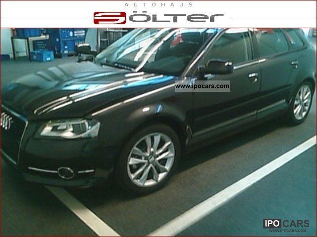 2010 audi a3 sportback 1 6 xenon gps bluetooth car photo and specs. Black Bedroom Furniture Sets. Home Design Ideas