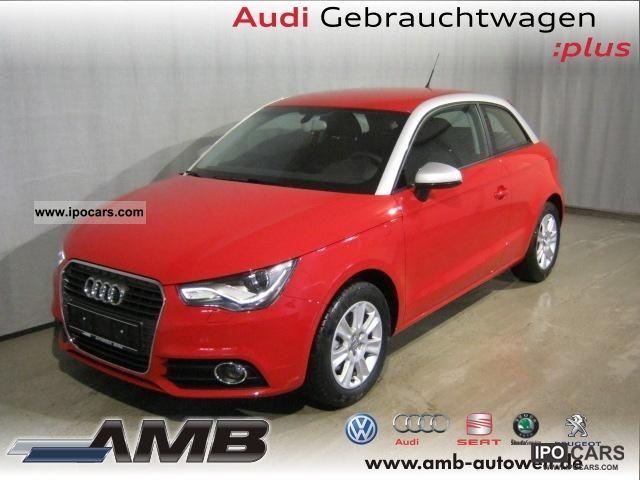 2011 Audi  A1 1.4 TFSI Xenon / SHZ / APS / aluminum / Climatronic Limousine Used vehicle photo
