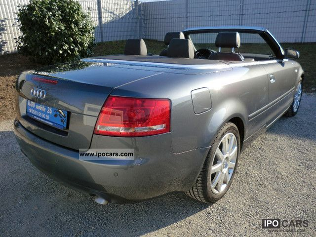 2006 audi a4 cabriolet 3 0 tdi quattro s line tip car. Black Bedroom Furniture Sets. Home Design Ideas