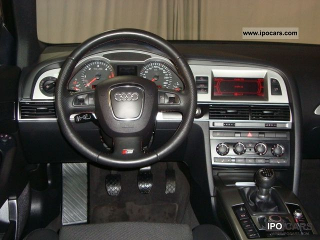 2008 Audi A6 Saloon 20 TDI S line  trailer hitch Xenon   Car