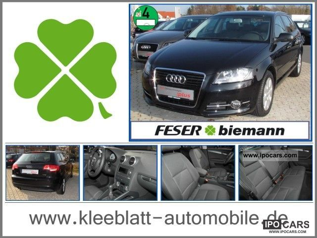 2011 Audi  A3 Sportback 1.4 TFSI Attraction Attraction navigation Limousine Used vehicle photo