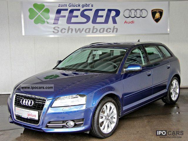 2010 Audi  A3 SPB. Ambition 1.6 Navi Xenon Bluetooth u.v.m Limousine Used vehicle photo