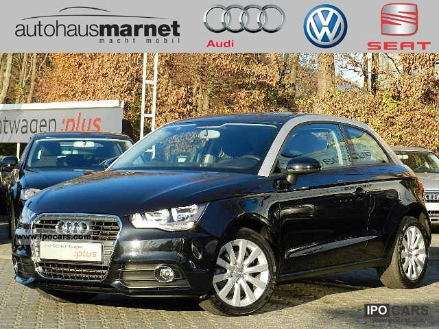 2010 Audi  A1 Attraction 1.4 TFSI S tronic, air, Einparkh Limousine Demonstration Vehicle photo