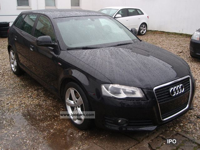 2009 audi a3 2 0 tdi sportback s line auto led f1 circuit car photo and specs. Black Bedroom Furniture Sets. Home Design Ideas