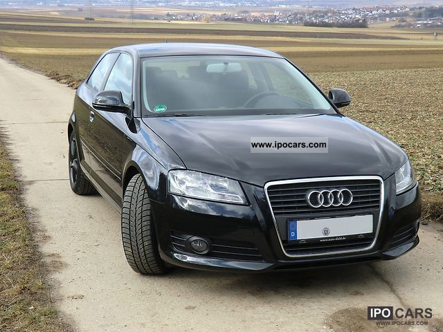 2009 audi a3 2 0 tdi ambition car photo and specs. Black Bedroom Furniture Sets. Home Design Ideas