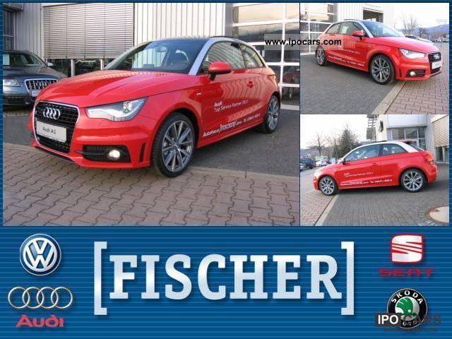 2011 Audi  A1 1.4 TSI S line xenon (Air PDC) Limousine Demonstration Vehicle photo