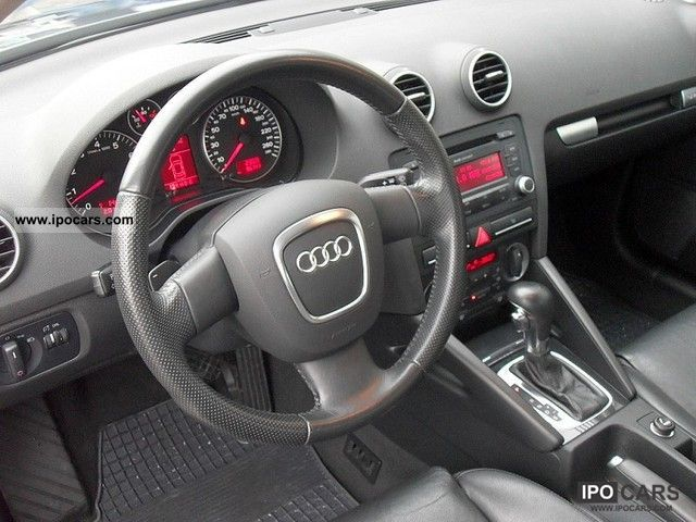 2007 audi a3 3 2 quattro automatic car photo and specs. Black Bedroom Furniture Sets. Home Design Ideas