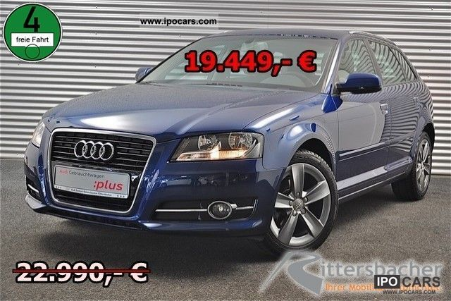 2010 Audi  A3 Sportback 1.2 TFSI Limousine Used vehicle photo