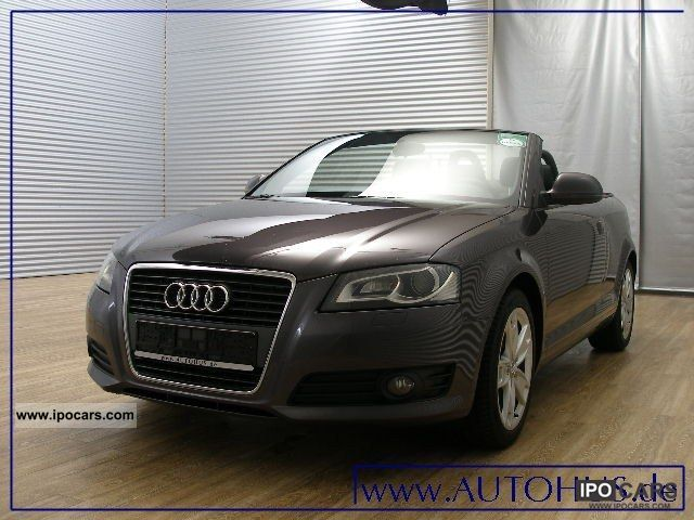 2008 Audi  A3 Convertible 2.0 TDI AMBITION NAVI XENON PDC Cabrio / roadster Used vehicle photo