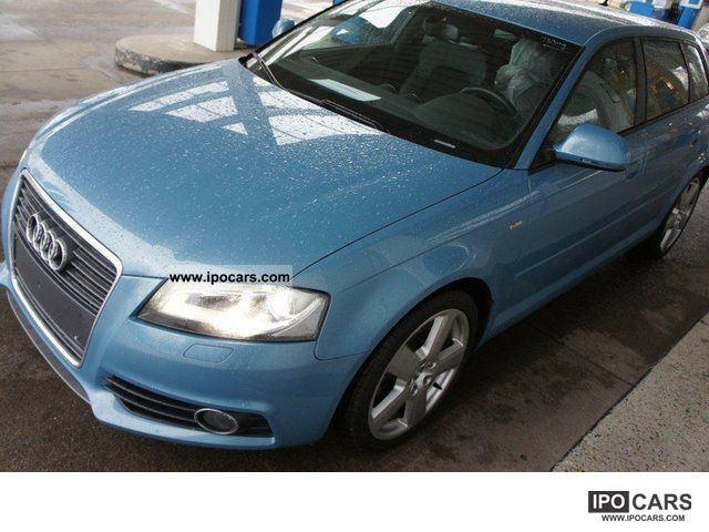 2008 Audi  A3 2.0 TFSI S line sports package plus / Magnetic Ride Limousine Used vehicle photo