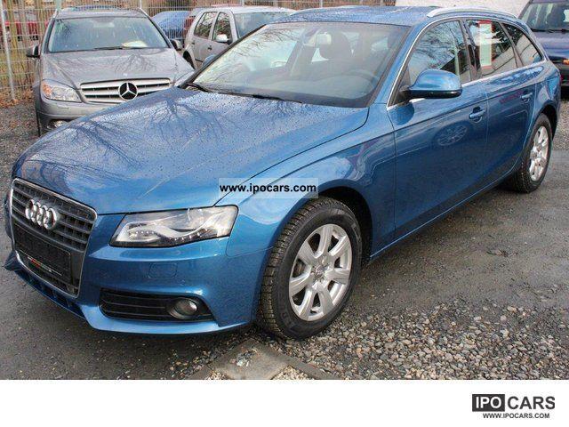 2008 Audi  * Euro 5 * A4 Ambiente2.0TFSI Modell09 * Navi * ACC * Bixe Estate Car Used vehicle photo