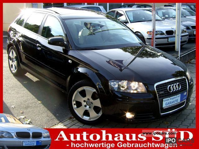 2008 Audi  A3 2.0 TFSI quattro Open Sky Leather / panorama roof Limousine Used vehicle photo