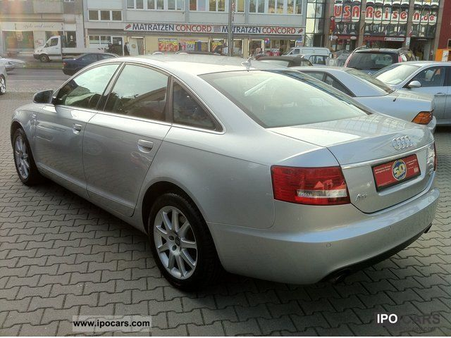 2008 audi a6 3 2 fsi quattro mmi keyless go bi xenon car photo and specs. Black Bedroom Furniture Sets. Home Design Ideas
