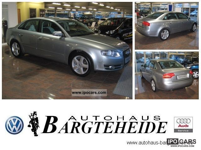 2007 Audi  A4 2.0 PDC air heated seats electric windows Limousine Used vehicle photo