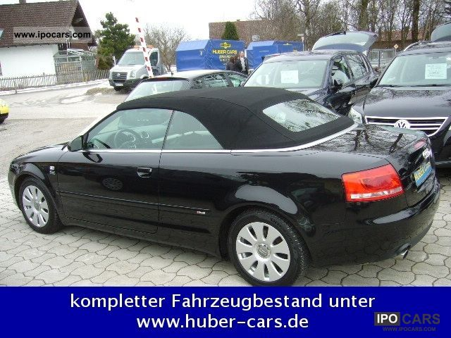 2006 audi a4 cabriolet 3 2 fsi quattro s line car photo. Black Bedroom Furniture Sets. Home Design Ideas