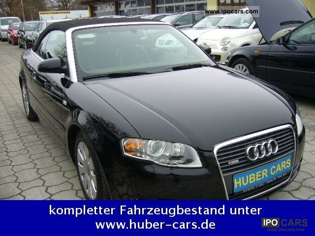 2006 audi a4 cabriolet 3 2 fsi quattro s line car photo and specs. Black Bedroom Furniture Sets. Home Design Ideas