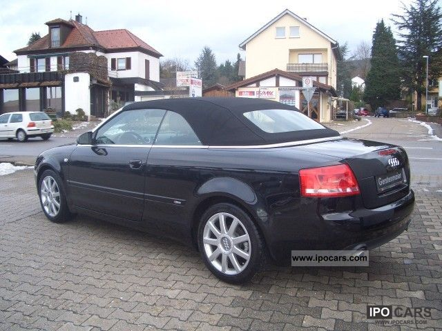 2008 audi a4 cabriolet 1 8t 5 course line climate xenon. Black Bedroom Furniture Sets. Home Design Ideas