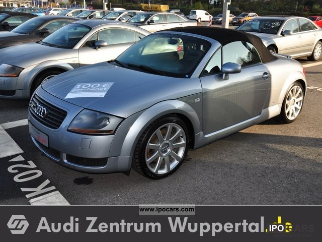 2005 audi tt roadster 1 8 quattro s line leather. Black Bedroom Furniture Sets. Home Design Ideas