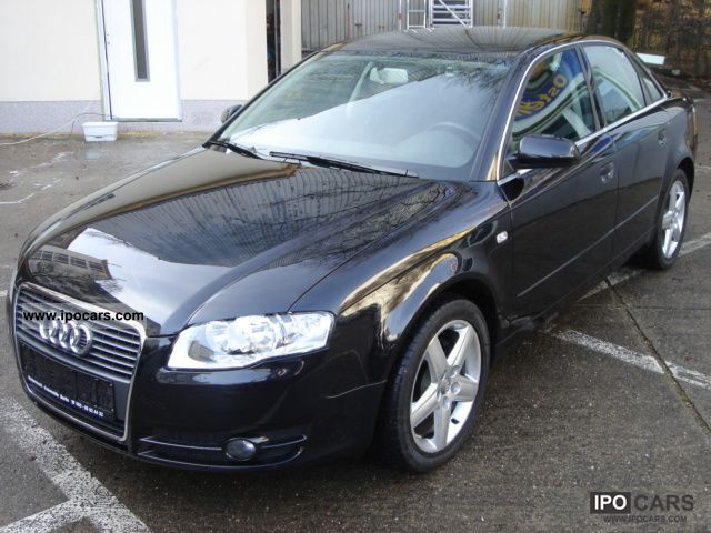 2007 Audi  A4 2.0 Multitr. / Sitzh / cruise control / navigation system Limousine Used vehicle photo