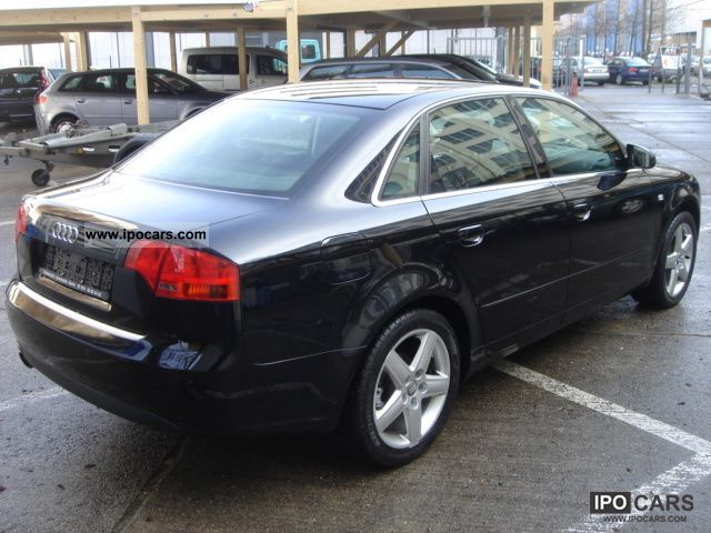 2007 audi a4 2 0 multitr sitzh cruise control navigation system car photo and specs. Black Bedroom Furniture Sets. Home Design Ideas