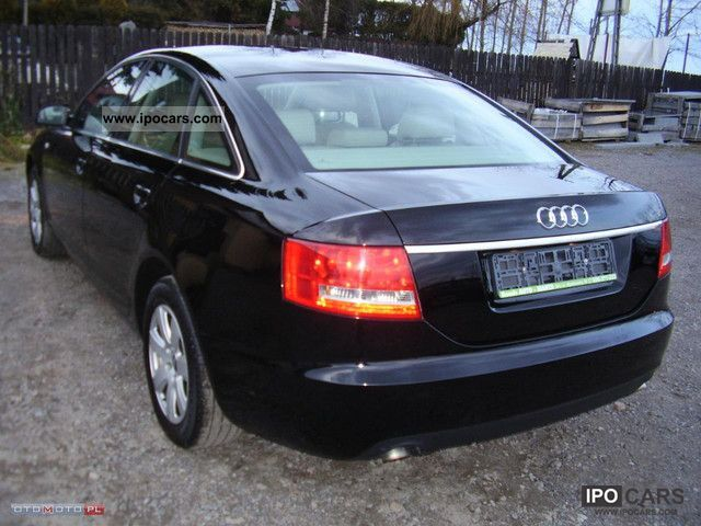 2007 audi a6 quattro car photo and specs. Black Bedroom Furniture Sets. Home Design Ideas