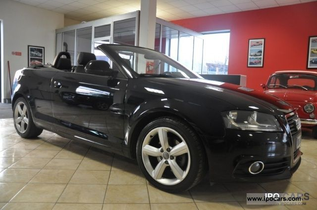 2008 Audi  A3 Convertible 2.0 TDI S-LINE *** - TESTA NUOVA DSG *** Cabrio / roadster Used vehicle photo