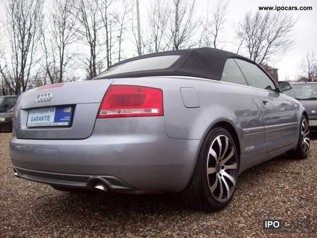 2006 audi a4 cabriolet 3 0 tdi quattro s line f1 layer. Black Bedroom Furniture Sets. Home Design Ideas