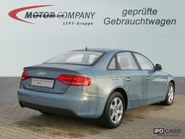 2008 Audi  A41.8 TDI multitronic Attraction xenon Klimaaut Limousine Used vehicle photo