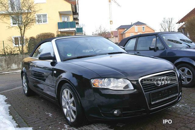 2008 Audi  A4 2.7 TDI / Convertible / Leather / Navi Plus / sports suspension / Cabrio / roadster Used vehicle photo