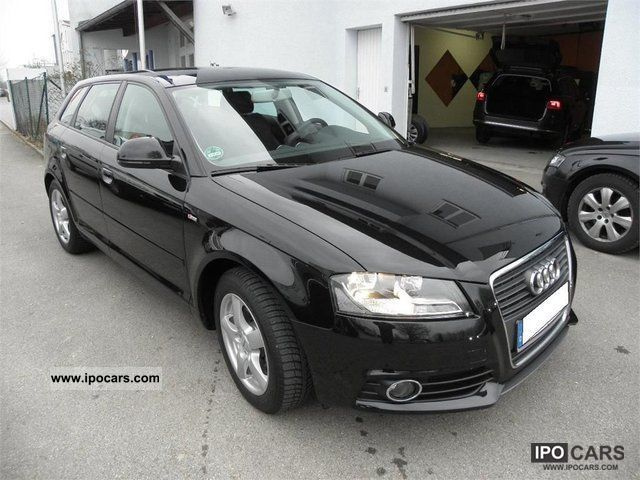 2009 audi a3 2 0 tdi dpf dsg sportback s line leather alcant car photo and specs. Black Bedroom Furniture Sets. Home Design Ideas