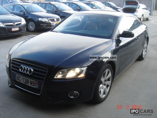 2009 audi a5 2 7 tdi 190pk ambient car photo and specs. Black Bedroom Furniture Sets. Home Design Ideas